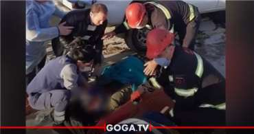 პოლიციის მაღალჩინოსანი მუშას შეეჯახა და ადგილზე გარდაიცვალა