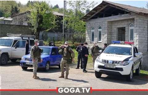 ოზურგეთის მუნიციპალიტეტში სამხედრო ნაწილი წუხელ გვიან ღამით უსაფრთხოების წესების დაცვის მიზნით შევიდა