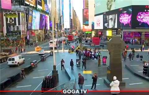 """""""პოსტ ფაქტუმი"""" ნიუ იორკში - რეპორტაჟი დაცარიელებული მეგაპოლისიდან"""