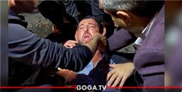 მარნეულში მთავარი არხის გადამღებ ჯგუფს თავს დაესხნენ - ჟურნალისტს თავი აქვს გატეხილი